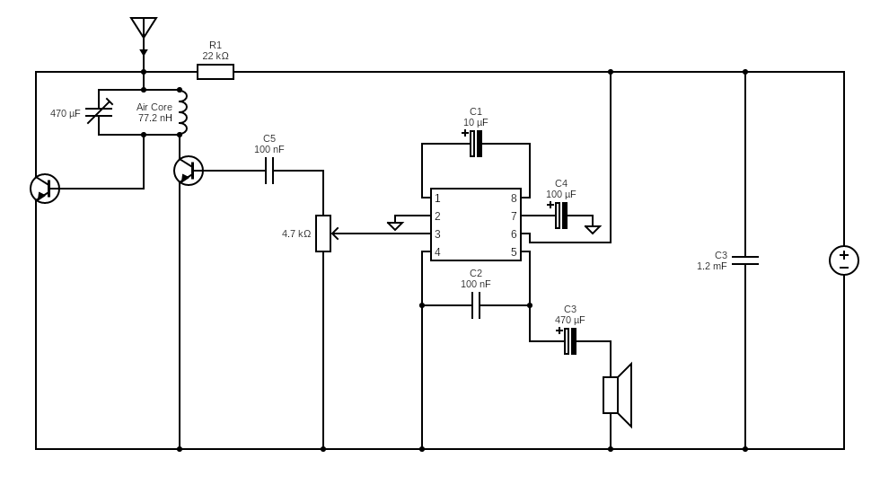 Fm Radio Receiver - Circuits